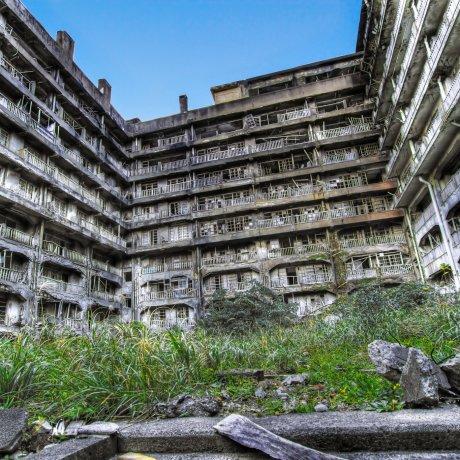 Gunkanjima é Património da UNESCO