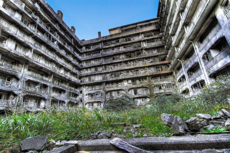 Apartment block 65 on Gunkanjima