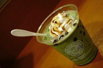 Greentea Bubble di Café Veloce