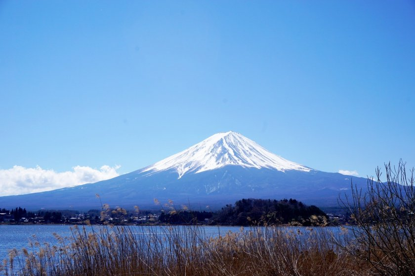 Mt. Fuji, arguably Japan's most iconic symbol