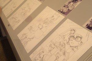 Beberapa sketsa naskah Detektif Conan