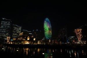 jatuh cinta pada Yokohama dengan susananya yang tentram di alam hari