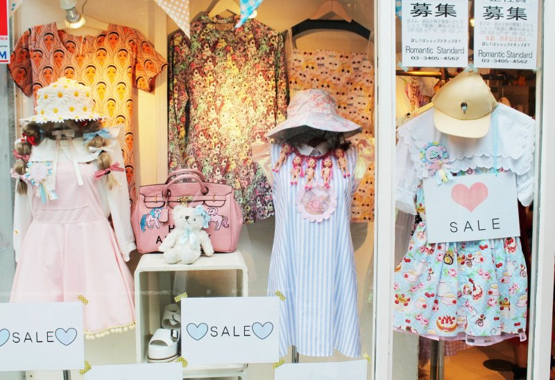 <p>Tokyo fashion can be sickly sweet...</p>