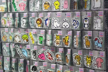 <p>A sticker store in Harajuku - go quickly, it won&#39;t be there long!</p>