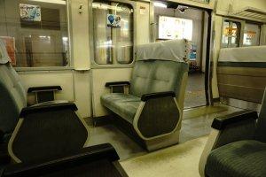 Kereta dari Maibara menuju Kyoto