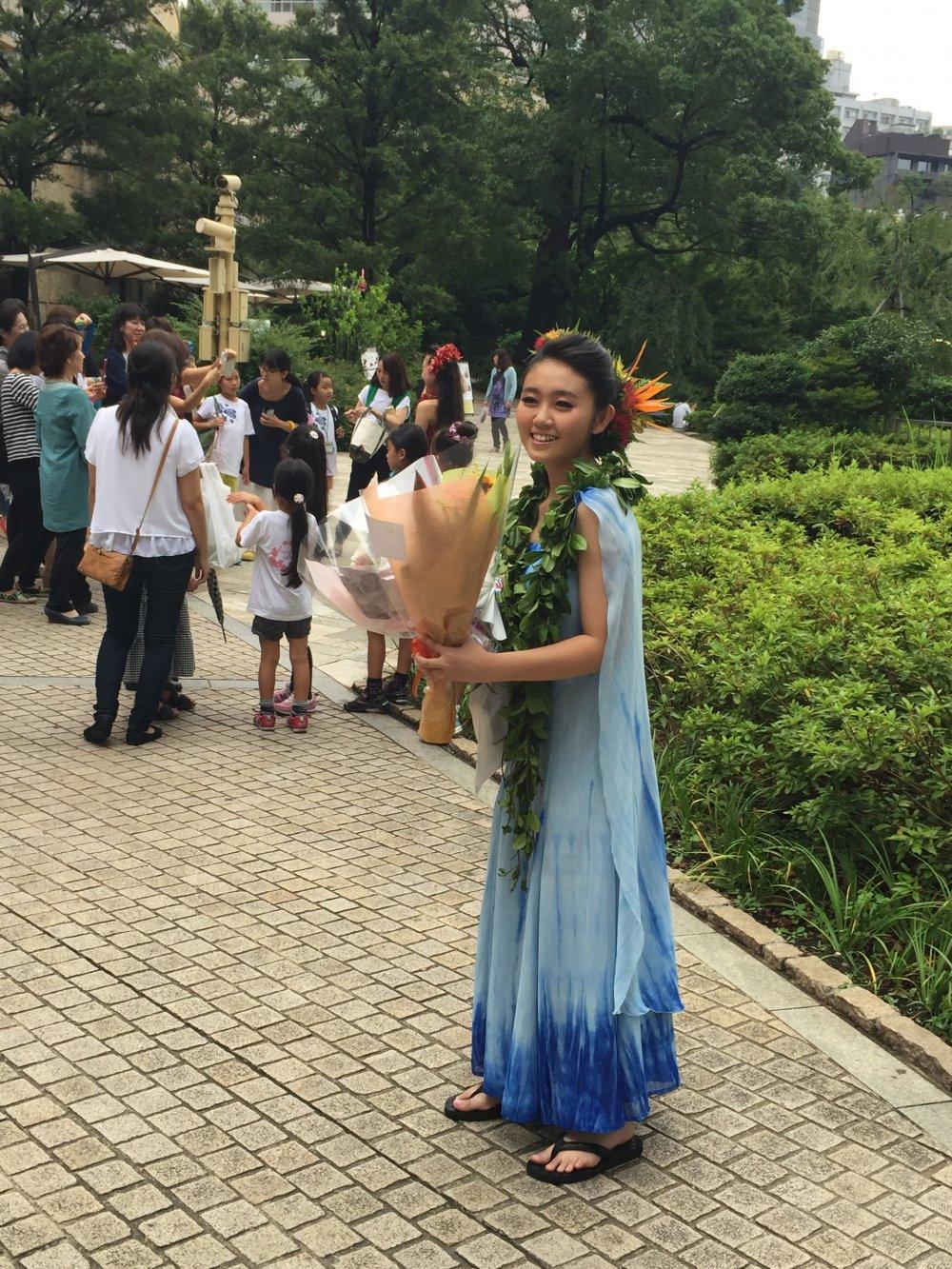 Мисс Hula Lehua 2015