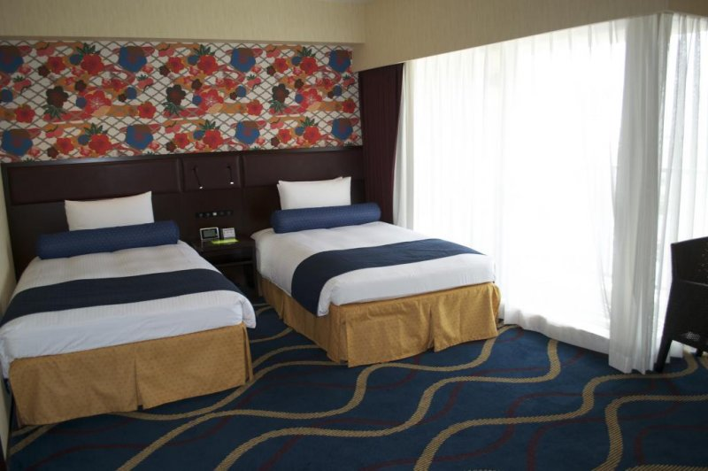 Deluxe Twin Room at Loisir Spa Tower Naha