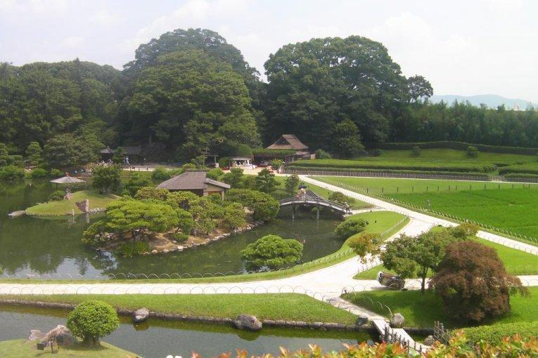 Okayama's Korakuen
