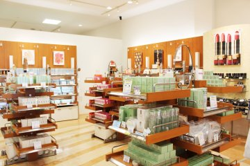 <p>High end cosmetics are sold</p>