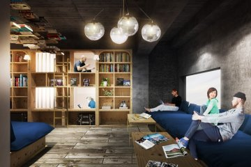 Book and Bed Tokyo Opens in September