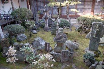 Inner garden of Temple complex