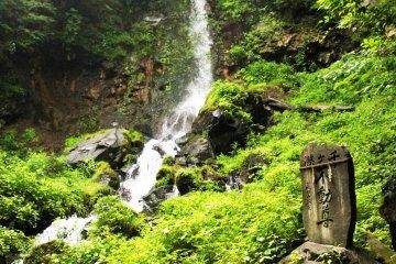 <p>Sengataki Falls is worth the uphill walk</p>