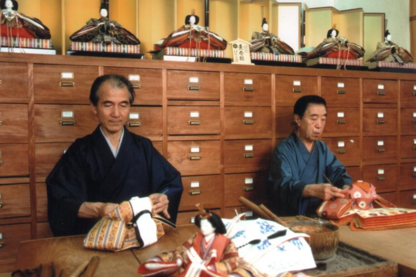 Watch a master craftsman at work making dolls and puppets for royalty worldwide