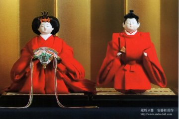 Join in a doll or puppet making class by appointment with Mr Ando doll maker to royalty in Kyoto