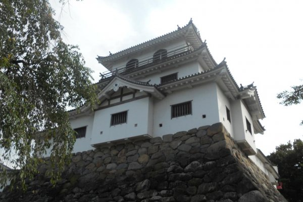 Sideview of castle