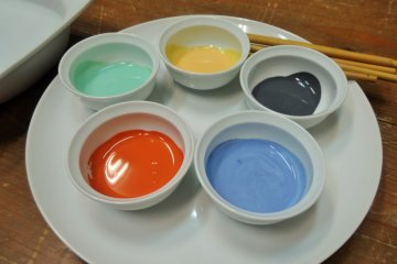 <p>Your design can only utilize these five colors</p>