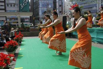 Festival Hula Tokyo di Ikebukuro