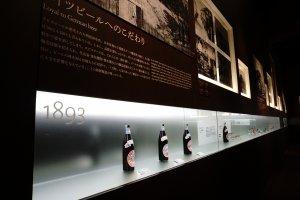 timeline sejarah perkembangan beer di tampilkan secara menarik dan tidak membosankan