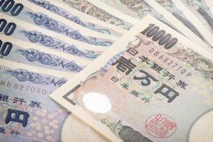 El dinero en Japón