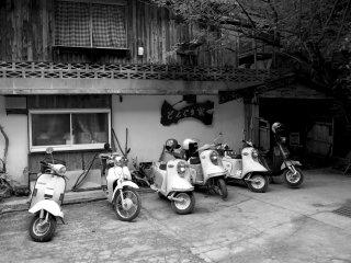 """Estacionamento da """"Casa das Bolotas"""""""