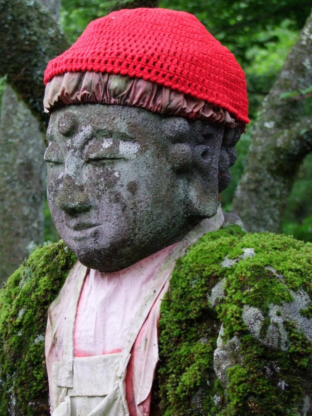 These Jizo are old