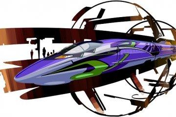 JR West's Evangelion Bullet Train