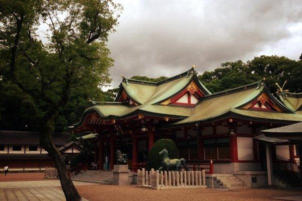 Храм Нисиномия Дзиндзя