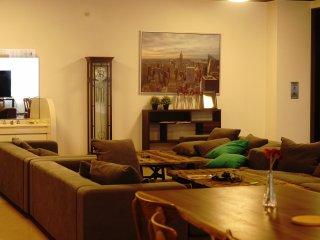 Selain tempat berkumpul anyak juga acara diadakan di living room antar penghuni sharehouse