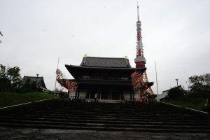 Zojoji Kuil merupakan kuil Budha yang berada di Tokyo.