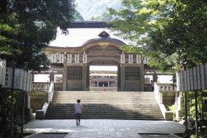 The main area of the shrine.