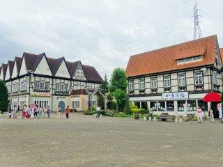 The entire park is designed to feel like a German village (a la Walt Disney, perhaps)