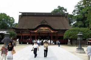 Temmangu : entrée principale