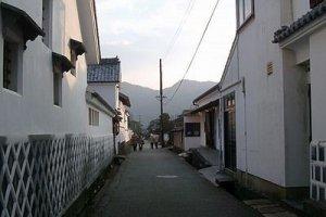 Une rue de la ville de Hagi