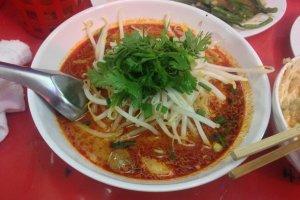 Thai sour/spicy ramen