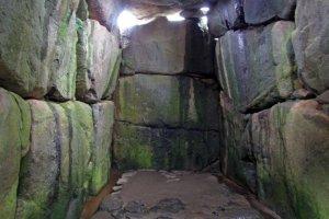 The Ishibutai's burial chamber