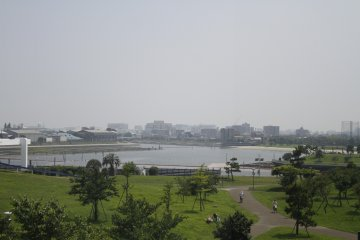 <p>The view from the top of Omori Nori museum.&nbsp;</p>