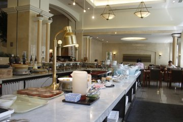 El área del restaurante