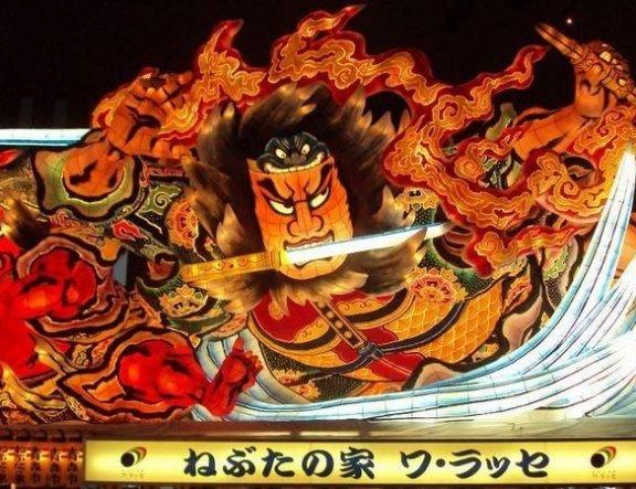 토호쿠 여름 축제 막바지