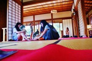 Nakajima no Ochaya est un lieu de détente entre amis