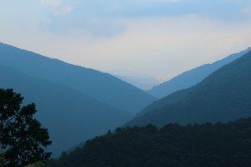 <p>More Totsukawa mountain scenery</p>