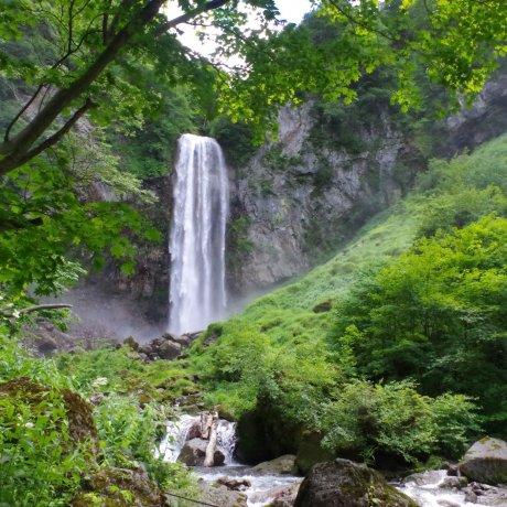 Природа и горячие источники в Хираю Онсэн