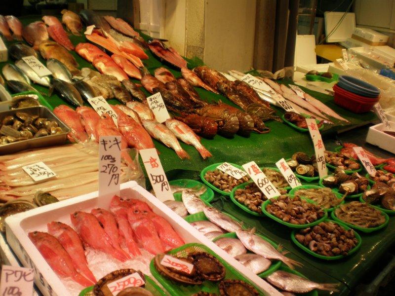 Fukuoka yanagibashi fish market fukuoka japan travel for Closest fish market