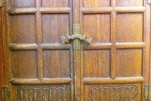 Traditional door detail