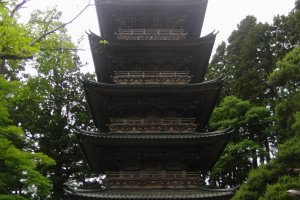 The famous pagoda
