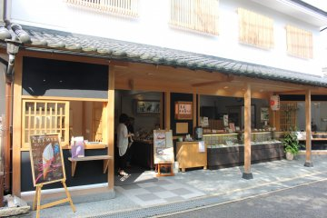 <p>Nakai Shunpudo Kudzu Sweets Restaurant</p>