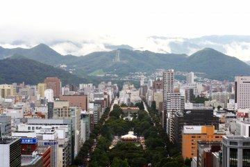 Pemandangan 360° Sapporo