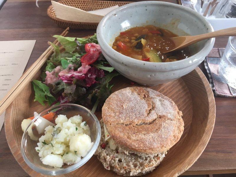 <p>English Muffin Lunch Set</p>