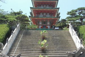 Gunjonoto 5 storied pagoda