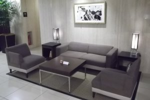 The little lounge in the lobby