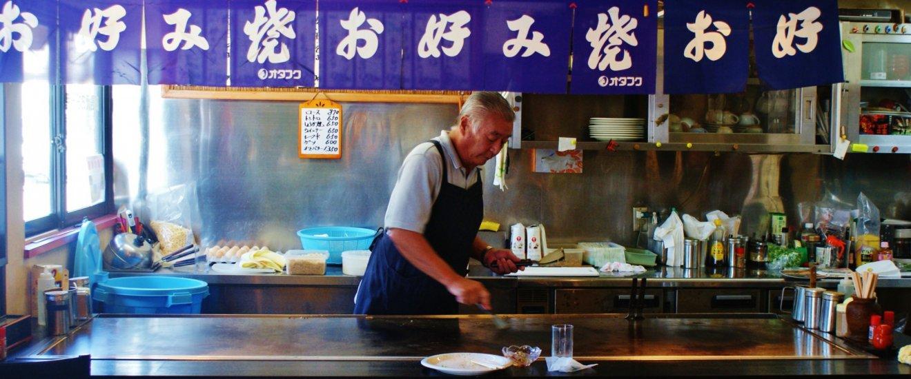 Le cuisinier à l'œuvre